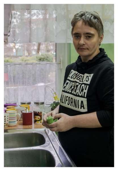 W kuchni dzień jak co dzień - zawsze coś się dzieje... Na brak pracy narzekać nie można ;)